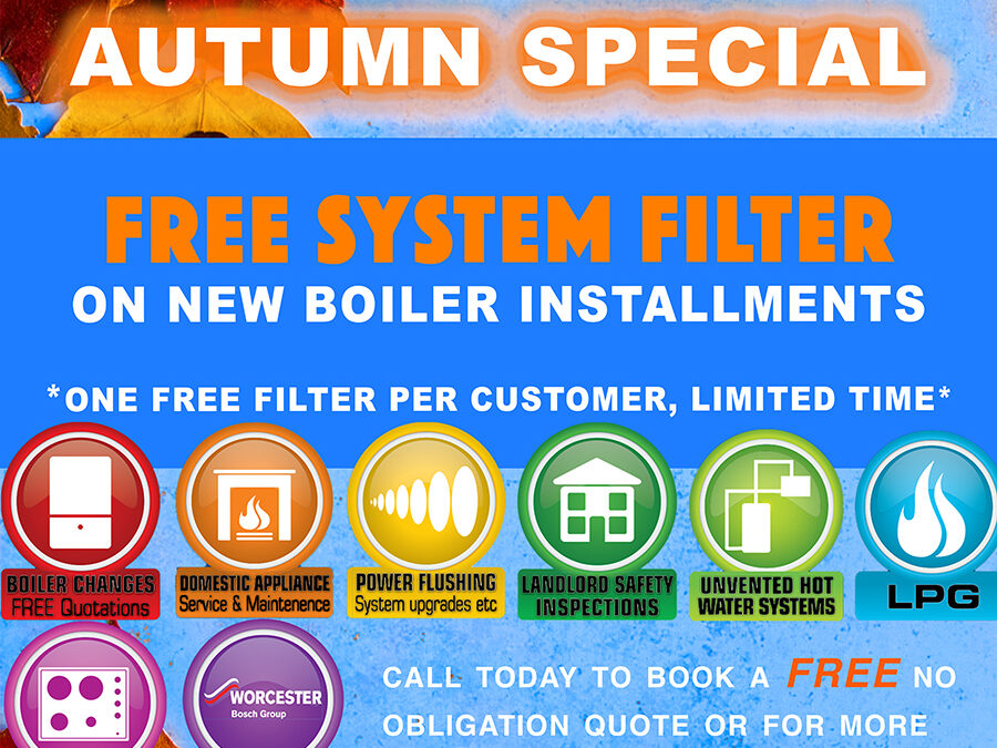 Autumn Offer on Boilers!